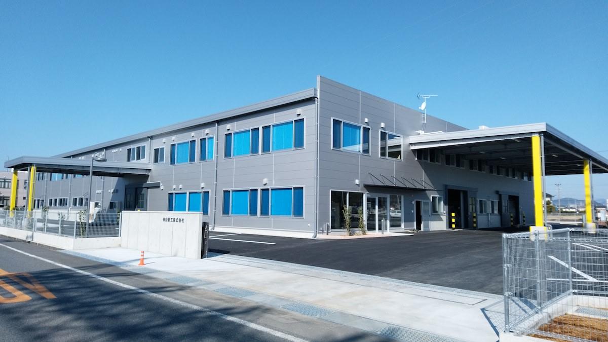 仲山鉄工株式会社|環境に配慮した低騒音の道路カッター・コンクリートカッター 工場外観