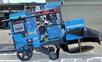 PINA20V低騒音の道路カッター・コンクリートカッターの仲山鉄工・低音設計